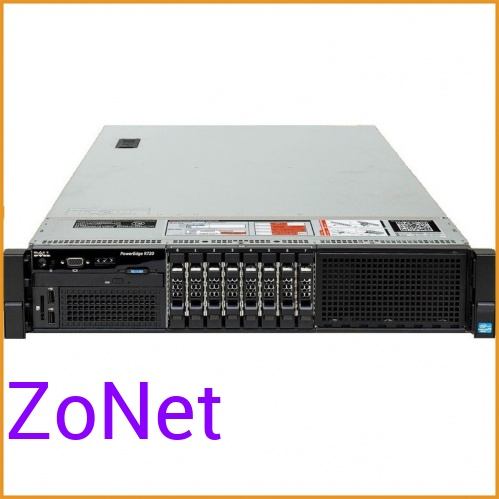 Сервер БУ DELL PowerEgde R720 8xSFF / 2 x E5-2690 v2 / 4 x 16GB / H710p Mini 1GB / 2 x 750W