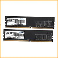 Оперативная память Patriot Signature Line 2x8GB DDR4 PC4-21300 PSD416G2666K