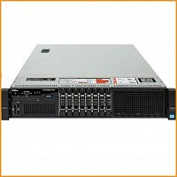 Сервер БУ DELL PowerEgde R720 8xSFF / 2 x E5-2680 / 10 x 8GB / H710 Mini 512MB / 750W