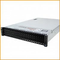 Сервер БУ DELL PowerEdge R730xd 26xSFF / 2 x E5-2640 v3 / 4 x 16GB 2133P / H330 Mini / 750W