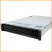 Сервер БУ DELL PowerEdge R730xd 26xSFF / 2 x E5-2650 v3 / 8 x 16GB 2133P / H730 Mini 1GB / 750W