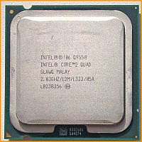 Процессор бу Intel Core 2 Quad Q9550