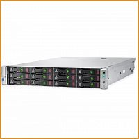 Сервер БУ HP ProLiant DL380 Gen9 12xLFF / 2 x E5-2670 v3 / 8 x 16GB 2133P / P840 2GB / 800W