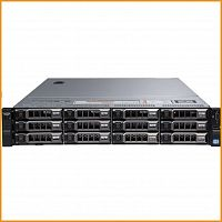 Сервер БУ DELL PowerEgde R720xd 12xLFF + 2xSFF / 2 x E5-2690 v2 / 6 x 16GB / H710p Mini 1GB / 2 x 750W