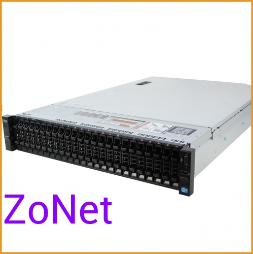 Сервер БУ DELL PowerEgde R720xd 26xSFF / 2 x E5-2690 v2 / 4 x 16GB / H710p Mini 1GB / 2 x 750W