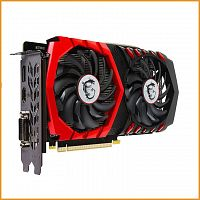 Видеокарта бу MSI Geforce GTX 1050 TI Gaming X 4GB GDDR5 [GTX 1050 TI GAMING X 4G]