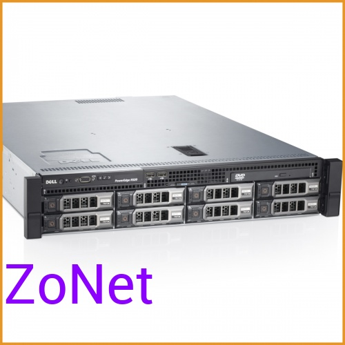 Сервер БУ DELL PowerEdge R520 8xLFF / 2 x E5-2470 / 8 x 16GB / H710p Mini 1GB / 2 x 750W