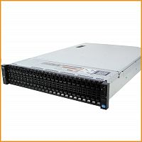 Сервер БУ DELL PowerEgde R720xd 26xSFF / 2 x E5-2680 / 8 x 8GB / H710 Mini 512MB / 750W